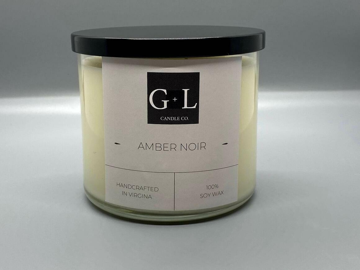 Amber Noir - 8 Oz. Candle   Trada Marketplace