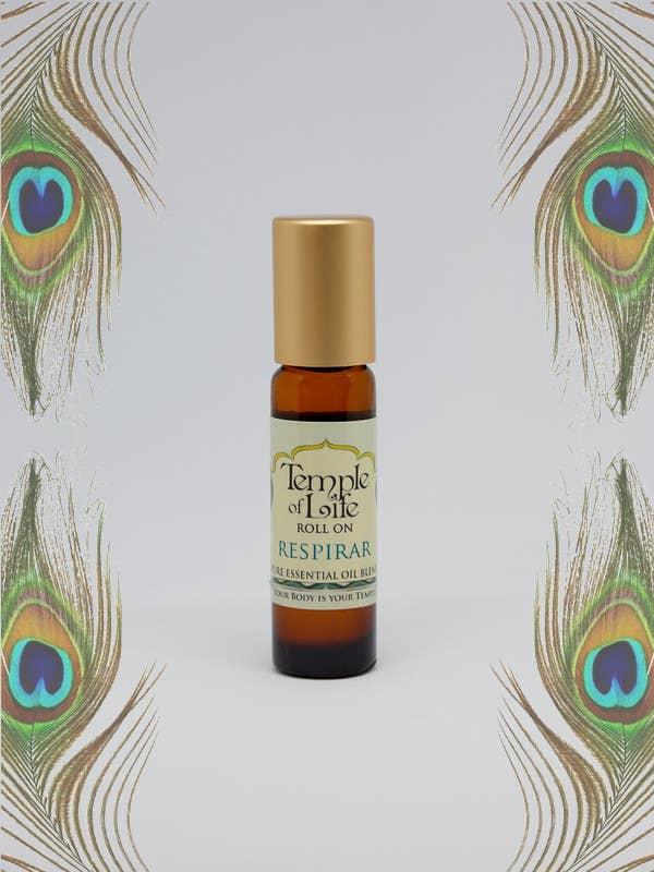 Essential Oil Roll On Remedy - Respirar 1/3 fl.oz.   Trada Marketplace