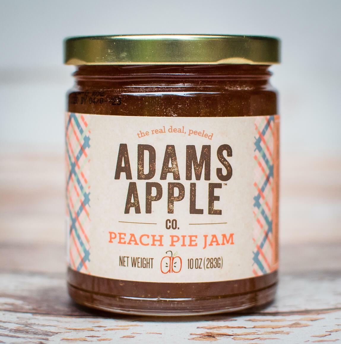 Adams Apple Peach Pie Jam | Trada Marketplace